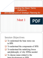 Basic Terms of SPIS