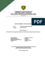 Dokumen Seleksi UKL UPL Sungai di Kabupaten Buru