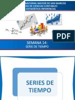 SEMANA 14 - Serie de Tiempo