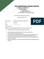 PTS PAK_GKI_Kelas 7
