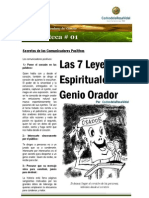 Leyes Espirituales Del Genio Orador - Carlos de La Rosa Vidal
