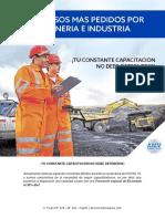 Lista de Cursos Virtuales Minería e Industria