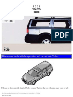 VOLVO XC70 2003 User Manual