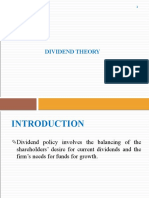 FM-Dividend Theory