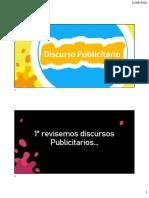 Discurso Publicitario