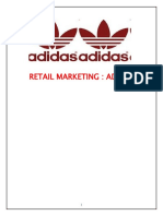 Adidas - Retail Marketing