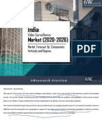 6Wresearch_India Video Surveillance Market (2020-2026)_Sample