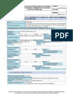 Formato-SEM - Seminario Especializado o Creditos de Maestria