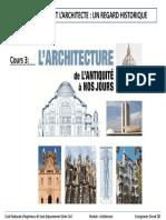 COURS 03_L'architecture de l'antiquité à nos jours