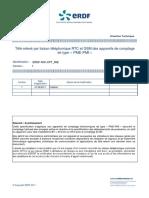 Télé-relevé par liaison téléphonique RTC et GSM des appareils de comptage de type «PME-PMI»