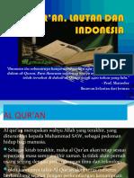 AL QUR'AN, LAUT DAN INDONESIA