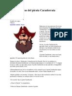 Las aventuras del pirata Caraderrata