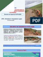 PROCESO ESPECIAL MANTENIMIENTOS