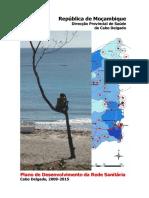 Plano Desenvolvimento Rede Cabo Delgado