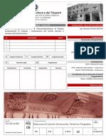 116_RS09 - Relazione di Calcolo Strutturale Pensilina Pergolato.pdf