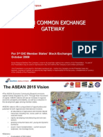 ASEAN Exchange Common Gateway