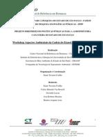 PROJETO DIRETRIZES DE POLÍTICAS PÚBLICAS PARA A AGROINDÚSTRIA CANAVIEIRA DO ESTADO DE SP