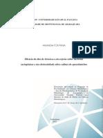 Artigo Científico - Eficácia do óleo de Melaleuca alternifolia sobre bactérias