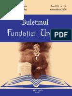 Buletinul Fundației Urechia Nr. 21
