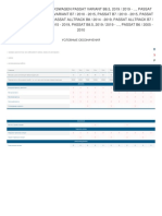 Регламент ТО для Volks Passat B6 _ 2005 - 2010
