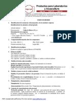 OXIDO DE HIERRO III _Favela Pro, S.A.