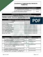 Reporte Viabilidad Proyecto de Aprendizaje - 719346 - DESARROLLO DE REDES PARA SERVI