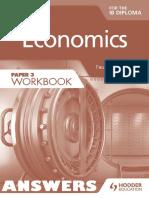 Economics (Paper 3 Workbook) - ANSWERS - Paul Hoang - Hodder 2015