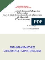 1-Anti-inflammatoires Stéroïdiens.AIS.2020