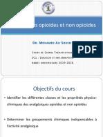 5-Analgésiques Opioïdes et Non-Opioïdes.2020