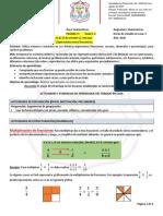 16. Guia Fracciones y Decimales IV 6to - 4to