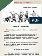 20- HISTÓRIA DO TRABALHO SEGUNDO ANO