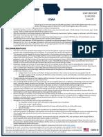 White House Coronavirus Task Force Report - IOWA (11-8-2020)