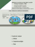 TEORIAS DE CONTROL DE MOVIMIENTO