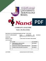 CASE STUDY of Nandos
