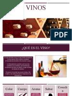 Generalidades de los vinos