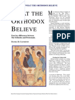 What the Orthodox Believe