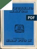 Catecismo Mayor San Pio X