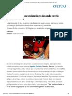 El 'Femicrime', una tendencia en alza en la novela policiaca _ Cultura _ EL PAÍS