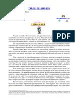 TEMA -0.694 - TIPOS DE GNOSIS