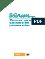 18. Guía para la educadora. Tercer grado.pdf
