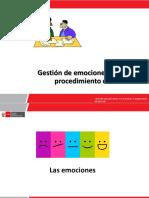 4. Gestion de emociones - Módulo IV