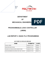 PLC LAB REPORT 3
