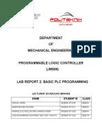 PLC LAB REPORT 2