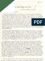 Carta de Haya de la Torre a Gabriela Mistral. Nov 5 1947