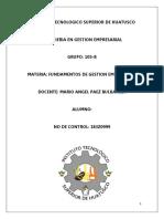FUNDAMENTOS DE GESTION
