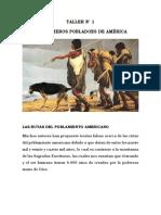 TALLER # 1 LOS PRIMEROS POBLADORES.docx IV PERIODO 6°
