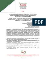 ALTERAÇÃO DA MICROBIOTA INTESTINAL E PATOLOGIAS ASSOCIADAS_IMPORTÂNCIA DO USO