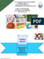 Practica No.3  MIP -133 111 114  Metabolismo de los Carbohidratos (Unidad No.3).pptx