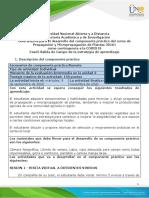 Guía de actividades y rúbrica de evaluación - Fase 5 - Desarrollo de componente práctico Alterna