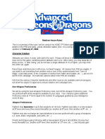 AD&D 2e House Rules  Madison Draft Four.pdf
